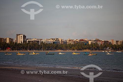 Assunto: Jangadas  na Praia de Pajuçara  / Local:  Maceió - Alagoas - AL  / Data: 2011