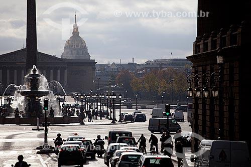 Assunto: Place de la Concorde  / Local:  Paris - França  / Data: 11/2010