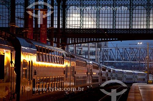 Assunto: Estação de trem Gare Saint Lazare  / Local:  Paris - França  / Data: 11/2010