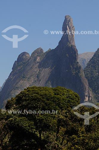 Assunto: Pico Dedo de Deus e Serra dos Orgãos - Mata Atlântica - Região Serrana Fluminense  / Local:  Teresópolis - Rio de Janeiro - RJ - Brasil  / Data: 08/2010