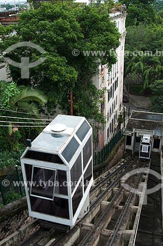 Assunto: Plano inclinado do Outeiro da Glória  / Local:  Glória - Rio de Janeiro - RJ - Brasil  / Data: 01/2011