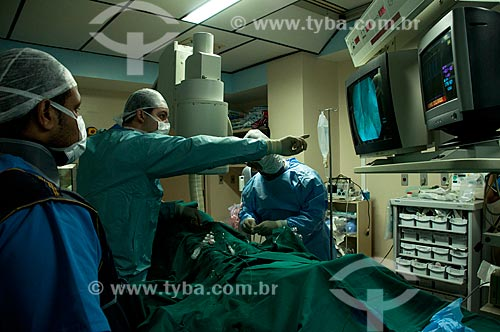 Assunto: Instituto Nacional de Cardiologia Laranjeiras - Hemodinâmica -Biópsia Guiada por Meotardia / Local: Laranjeiras - Rio de Janeiro - Brasil  / Data: 10-2010.
