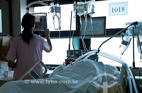 Assunto: Instituto Nacional de Cardiologia Laranjeiras  - Setor pós operatório / Local: Laranjeiras - Rio de Janeiro - Brasil  / Data: 10-2010.