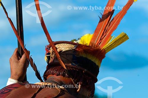 Assunto: Kuarup na Adeia Kalapalo - Parque Indígena do Xingu  / Local:  Querência - Mato Grosso  - MT  / Data: 07/2009