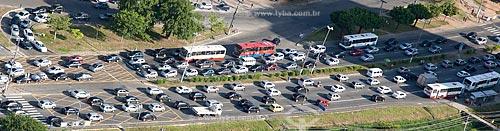 Assunto: Vista aérea de engarrafamento  / Local:  Salvador - Bahia - BA  / Data: 01/2011
