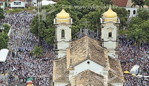 Assunto: Aérea da Igreja do Nosso Senhor do Bomfim no dia da lavagem - Festa religiosa em homenagem ao Senhor do Bonfim  / Local:  Salvador - Bahia - BA  / Data: 13/01/2011