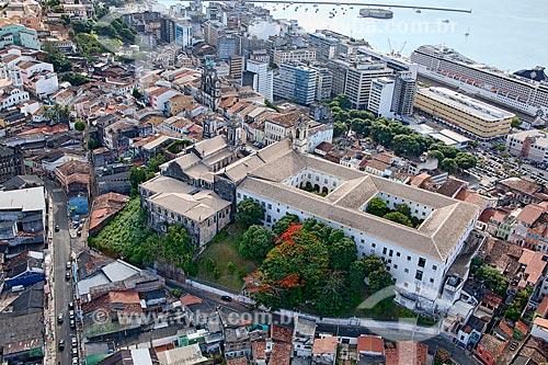 Assunto: Vista aérea do Pelourinho, no Centro Histórico de Salvador  / Local:  Bahia - BA  / Data: 01/2011