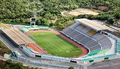 Assunto: Vista aérea do Estádio de Pituaçu - Estádio Governador Roberto Santos  / Local:  Salvador - Bahia - BA  / Data: 01/2011