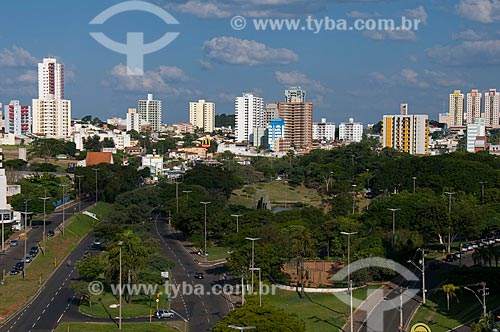 Assunto: Vista panorâmica da cidade de Bauru - Parque Vitória Régia  / Local:  Bauru - SP  / Data: 04/2010