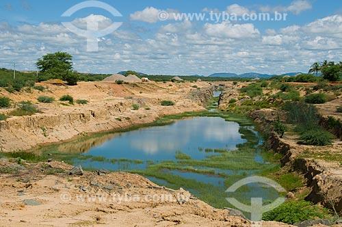 Assunto: Projeto de Integração do Rio São Francisco com as bacias hidrográficas do Nordeste Setentrional - Transposição do Rio São Francisco - Canal de aproximação  / Local:  Cabrobró - Pernambuco - PE  / Data: 01/2010
