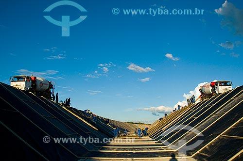 Assunto: Projeto de Integração do Rio São Francisco com as bacias hidrográficas do Nordeste Setentrional - Transposição do Rio São Francisco  / Local:  Cabrobró - Pernambuco - PE  / Data: 01/2010
