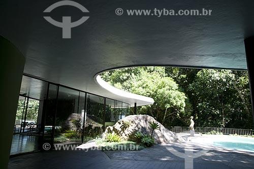 Assunto: Casa das Canoas - Casa de Oscar Niemeyer  / Local:  São Conrado - Rio de Janeiro - RJ  / Data: 2010