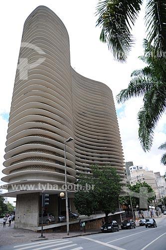 Assunto: Edifício Niemeyer em Belo Horizonte - Projeto de Oscar Niemeyer  / Local:  Belo Horizonte - Minas Gerais - MG  / Data: 2010