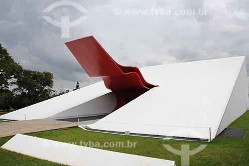 Assunto: Auditório Ibirapuera - Projeto de Oscar Niemeyer  / Local:  Parque do Ibirapuera - São Paulo - SP  / Data: 01/2010