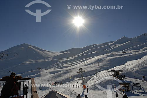 Assunto: Estação de Esqui em Vale Nevado  / Local:  Chile  / Data: 2008
