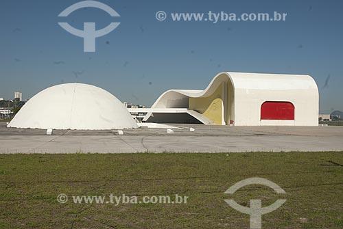 Assunto: Sede da Fundação Oscar Niemeyer no Caminho Niemeyer - Projeto de Oscar Niemeyer  / Local:  Niterói - Rio de Janeiro - RJ  / Data: 07/2008