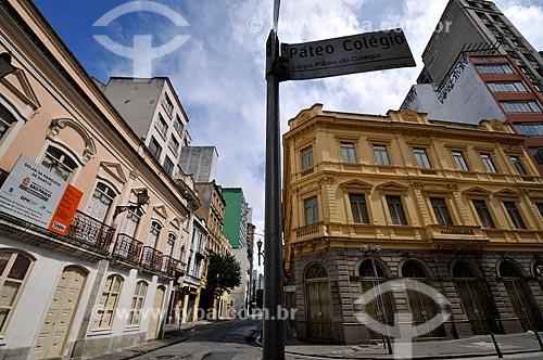 Assunto: Casa de Marquesa dos Santos no Pátio do Colégio  / Local:  São Paulo - SP  / Data: 11/2009