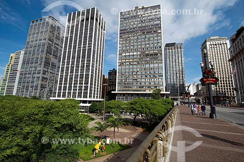 Assunto: Viaduto do Chá  / Local:  São Paulo - SP  / Data: 25/12/2009