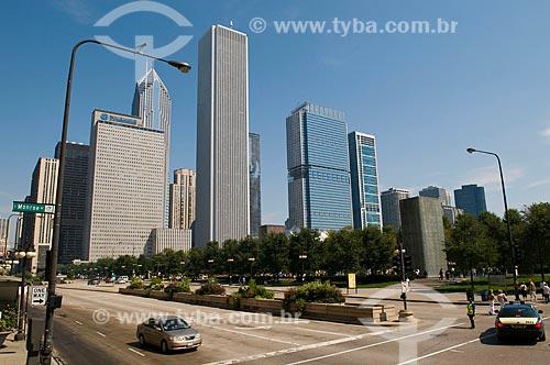 Assunto: Avenida Michigan no centro de Chicago  / Local:  Chicago - Illinois - Estados Unidos da América - EUA  / Data: 09/2009