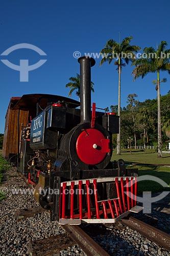 Assunto: Réplica de locomotiva Maria Fumaça  / Local:  Fazenda Guaritá - Sebastião de Lacerda - Distrito de Vassouras - Vale do Paraíba - Rio de Janeiro - RJ  / Data: 02/2011