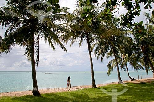 Assunto: Praia de Ponta Verde da cidade de Maceió  / Local:  Maceió - Alagoas - AL  / Data: 05/2010