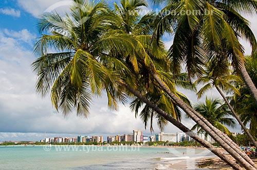 Assunto: Praia de Pajuçara da cidade de Maceió  / Local:  Maceió - Alagoas - AL  / Data: 05/2010