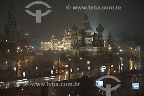 Assunto: Catedral de São Basílio  / Local:  Moscou - Rússia  / Data: 12/2007