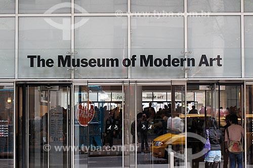 Assunto: Fachada do MoMa - Museu de Arte Moderna de Nova Iorque / Local: Nova Iorque - Estados Unidos da America - EUA / Data: 09/2009