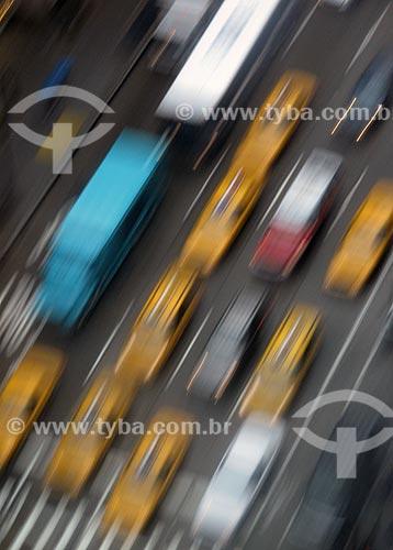Assunto: Trânsito em Nova Iorque / Local: Nova Yorque - Estados Unidos da América - EUA / Data: 07/2009