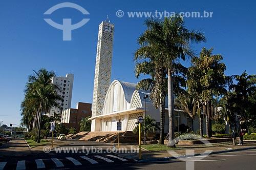 Assunto: Igreja Matriz da cidade de Matão / Local: Matão - São Paulo - SP - Brasil / Data: 07/2009