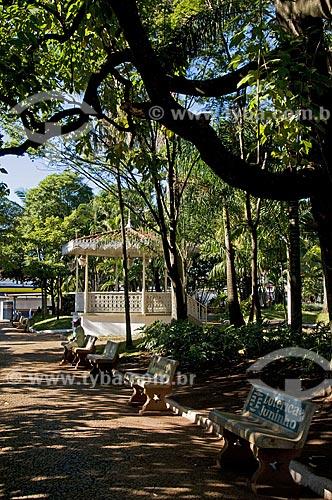 Assunto: Coreto na Praça Barão do Rio Branco / Local: Matão - São Paulo - SP - Brasil / Data: 07/2009
