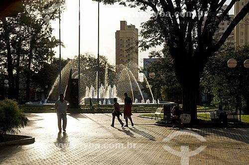 Assunto: Praça 21 de Abril - centro da cidade   / Local: Sertãozinho - São Paulo - SP Brasil / Data: 08/2009