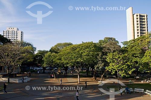 Assunto: Praça central da cidade de Limeira / Local: Limeira - São Paulo - SP - Brasil / Data: 07/2009