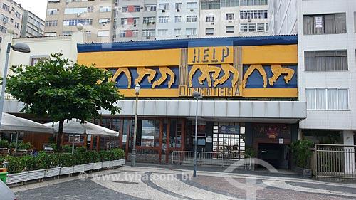 Assunto: Fachada da Discoteca Help em Copacabana / Local: Rio de Janeiro - RJ - Brasil  / Data: 10/2009