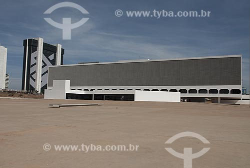 Assunto: Biblioteca Nacional de Brasilia / Local: Brasília - Distrito Federal - Brasil  / Data: 07/2007