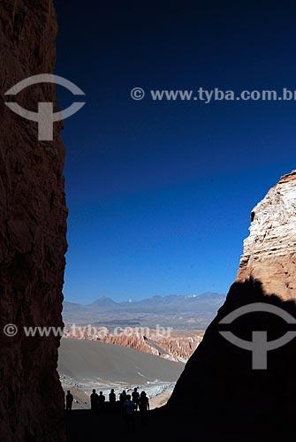 Assunto: Grupo de turistas visitam Vale da  Morte A milhões de anos atrás este vale era uma grande lagoa / Local: Deserto de Atacama - Chile - América do Sul / Data: 01/2011