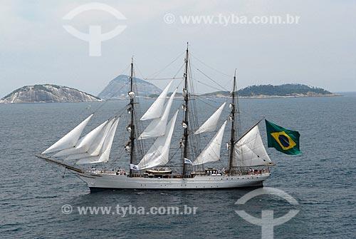 Assunto: Veleiro Cisne Branco - Marinha do Brasil  / Local: Rio de Janeiro - RJ - Brasil  / Data: 01/2011