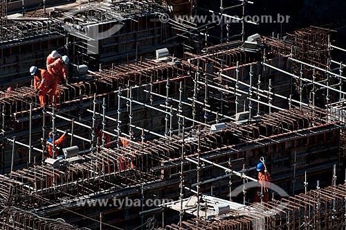 Assunto: Unidade de Bombeamento Vertical - EBV 1 - Projeto de Integração do Rio São Francisco com as bacias hidrográficas do Nordeste Setentrional  / Local: Floresta - Pernambuco (PE) - Brasil / Data: 08/2010
