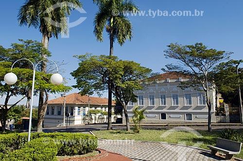 Assunto: Casarões históricos na praça Adhemar de Barros  / Local: Mococa - São Paulo (SP) - Brasil  / Data: 08/2009