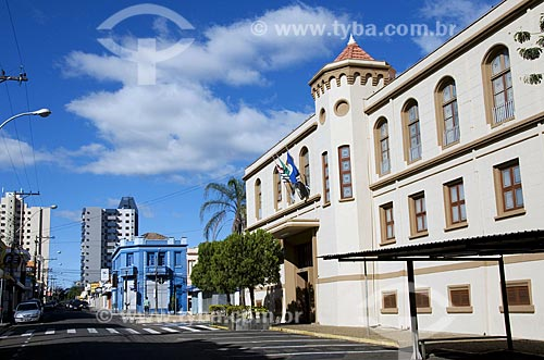 Assunto: Edifício Euclides da Cunha - Câmara Municipal  / Local: São Carlos - São Paulo (SP) - Brasil / Data: 07/2009