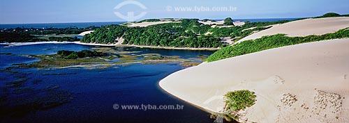 Assunto: Lagoa e dunas de Genipabú / Local: Extremóz - Rio Grande do Norte (RN) - Brasil / Data: 12/1999