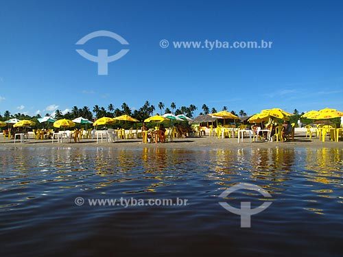 Assunto: Foz do Rio Ipojuca - Porto de Galinhas   / Local: Ipojuca - Pernambuco (PE) - Brasil / Data: 03/2011