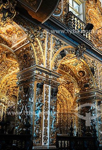Assunto: Interior da Igreja de São Francisco no Pelourinho / Local: Salvador - Bahia (BA) - Brasil / Data: 02/2011