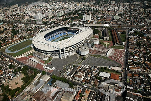 Assunto: Estádio Olímpico João Havelange - Engenhão  / Local: Engenho de Dentro - Rio de Janeiro (RJ) - Brasil / Data: 03/2011