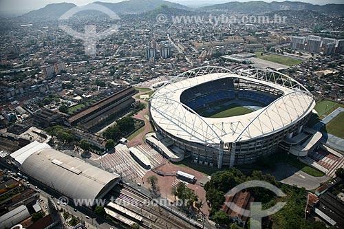 Assunto: Estádio Olímpico João Havelange ou Engenhão  / Local: Engenho de Dentro - Rio de Janeiro (RJ) - Brasil / Data: 03/2011