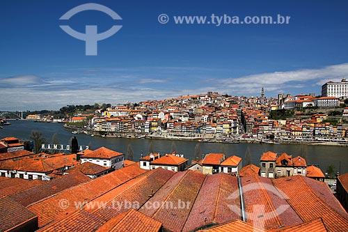 Assunto: Vista da cidade do Porto a partir da cidade Vila Nova de Gaia / Local: Porto - Portugal - Europa / Data: 03/2011