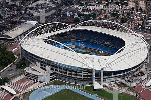 Assunto: Vista aérea do Estádio João Havelange - Engenhão  / Local: Rio de Janeiro (RJ) - Brasil / Data: 03/2011