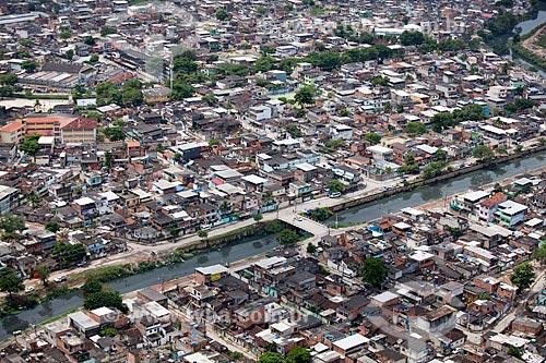 Assunto: Vista aérea da Cidade de Deus  / Local: Cidade de Deus - Rio de Janeiro (RJ) - Brasil / Data: 03/2011