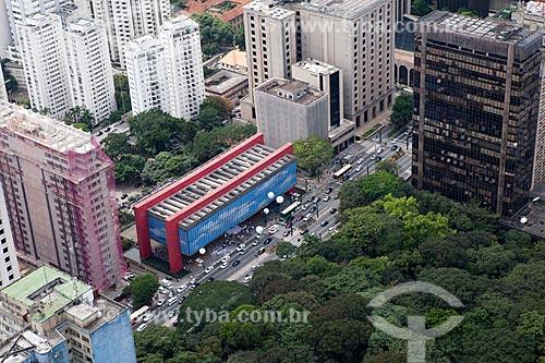 Assunto: Vista aérea do MASP - Museu de Arte de São Paulo  / Local: São Paulo (SP) - Brasil / Data: 03/2011