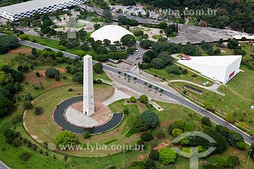 Assunto: Vista aérea do Parque do Ibirapuera / Local: São Paulo (SP) - Brasil / Data: 03/2011